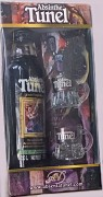 TUNEL Absinth Black kaz.+2 sklo             0,35 L 70% vol.