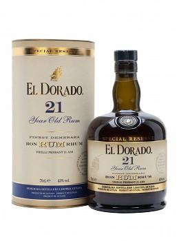 El Dorado 21 y. Rum                             70 cl 43%