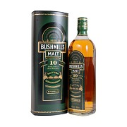 Bushmills 10y                               70 cl 40% vol.
