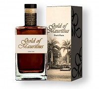 Gold of Mauritius  Rum  GB - dárk.kartónek     70 cl 40%