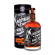 Austrian Empire Navy Rum Solera 18 yo Tuba  0,7L 40%