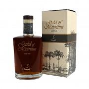 Gold of Mauritius Solera 5  Rum                    70 cl 40%