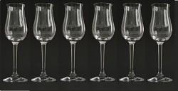 Plantation Rum - sada 6 degustačních skleniček