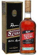 Santiago de Cuba Extra 12 yo Rum               70 cl 40%