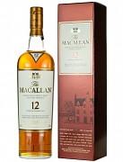Macallan Sherry Oak 12 yo + GB                 0,7L 40%