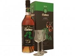 Malteco 15 y. Rum + 2 skleničky            0,7l 41,5%