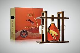 Meukow Cognac GB + skleničky                  0,7l 40%