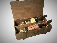 Plantation Original Dark & Plantation OFTD Wood Box 2 x 0,7L