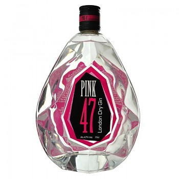 LONDON DRY PINK 47 GIN  0,7l 47%