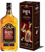 LABEL 5 12YO 0,7l           40%