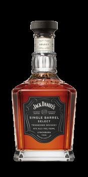 JACK DANIELS SINGLE BARREL 0,7l45%