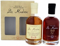 Dos Maderas PX 5+5 Rum + Dos Maderas Anejo 5+3 Rum Giftset 2 x 0,2 l                38,75%