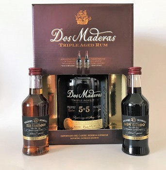 DOS MADERAS 5+5y SHERRY SET 0,7l 40%