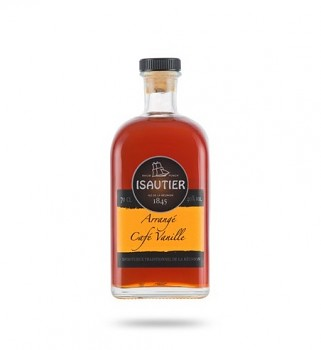 ISAUTIER CAFE VANILLE 0,5l 40%