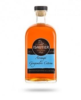 ISAUTIER GINGEMBRE CITRON 0,5l 40%