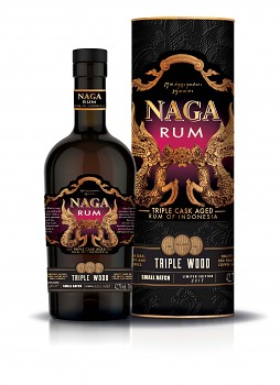 NAGA RUM TRIPLE WOOD 0,7l 42.7%
