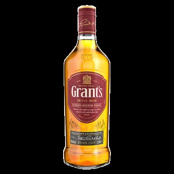 GRANT'S TRIPLE WOOD  0.7l 40%