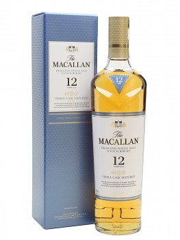 MACALLAN 12y OLD TRIPLE CASK 0,7l 40%