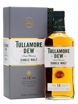 TULLAMORE DEW 14YO SINGLE M 0,7l 41.3%