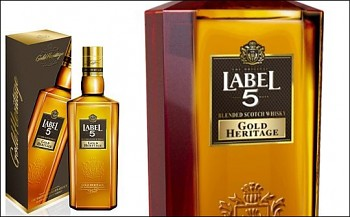 LABEL 5 GOLD HERITAGE 0,7l 40%