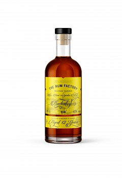 THE RUM FACTORY RUM 12YO 0,7l 43%