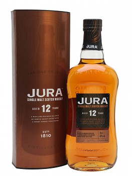 ISLE OF JURA  12YO 0,7l 40%