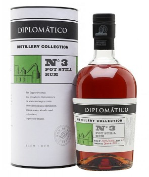 DIPLOMATICO No.3 POT STILL 0,7l47%L.E