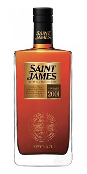 SAINT JAMES MILLESIME 2001 0,7l 43%L.E