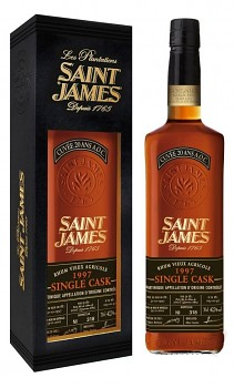 SAINT JAMES SINGLE CASK 1997 0,7l42,7%