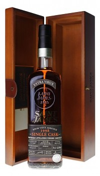 SAINT JAMES SINGLE CASK 1998 0,7l42.8%