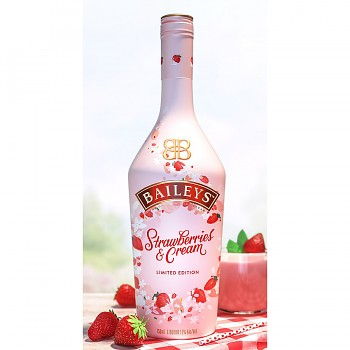 BAILEYS STRAWBERRIES & 0,7l 17%