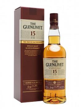 GLENLIVET 15YO 0,7l          40%