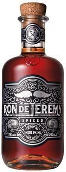 RON DE JEREMY SPICED 0,7l 38%obj. L.E