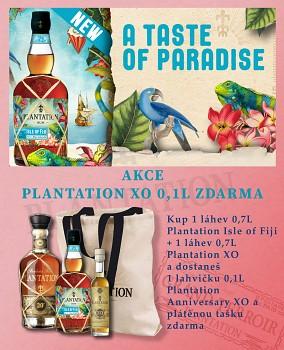 Akce Plantation XO Anniversary 0,1L a plátěná taška zdrama