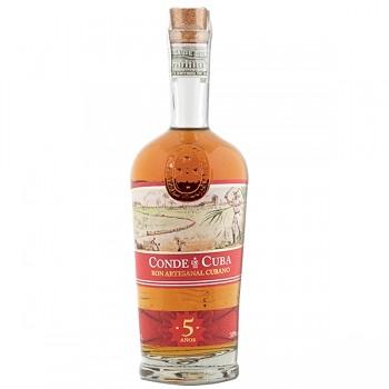 CONDE DE CUBA  5Y 38% 0,7l (holá láhev)