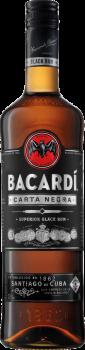 BACARDI CARTA NEGRA 37,5%0,7l(holáláhev)