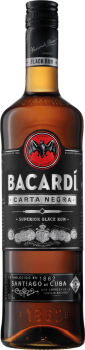 BACARDI BLACK CARTA NEGRA 0,7l 37,5% obj