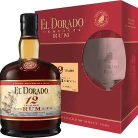 EL DORADO 12YO + 1 x sklo 0,7l 40%