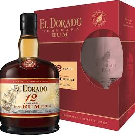 EL DORADO 12Y + 1 x sklo 0,7l 40%