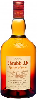 J.M SHRUBB LIQUER D ORANGE 0,7l 35% obj.