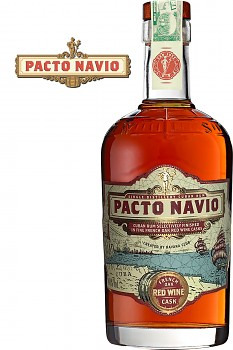 PACTO NAVIO RED WINE CASK 0,7l 40%