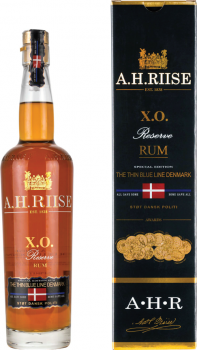 A.H.RIISE BLUE LINE DENMARK 0,7l 40%
