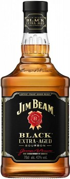 JIM BEAM BLACK EXTRA AGED 0,7L 43% obj.