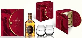 CARDHU 12Y + 2xSKLO 0,7l 40%