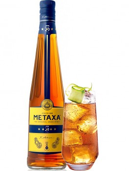 METAXA  5* 38% 0,7l + SKLO
