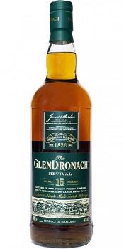 GLENDRONACH 15Y REVIVAL 0,7l 46%obj.