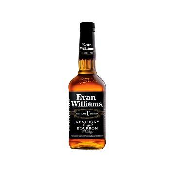 EVAN WILLIAMS BLACK 43% 1l (holá láhev)