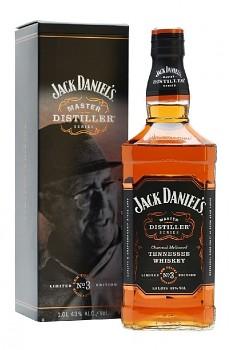 JACK DANIELS MASTER No.3 1l 43%obj. L.E