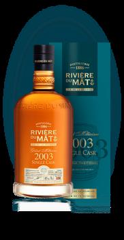 RIVIERE du MAT SINGLE CASK 2003 0,7l46%