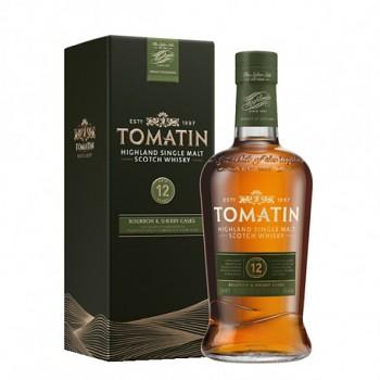 TOMATIN 12Y 43% 0,7l (karton)